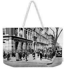 School's Out In Harlem Weekender Tote Bag