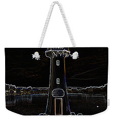 Weekender Tote Bag featuring the photograph Scott Memorial Roath Park Cardiff 2 by Steve Purnell