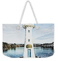 Weekender Tote Bag featuring the photograph Scott Memorial Roath Park Cardiff 3 by Steve Purnell