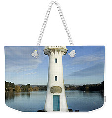 Weekender Tote Bag featuring the photograph Scott Memorial Roath Park Cardiff by Steve Purnell