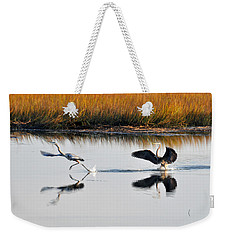 Scram Weekender Tote Bag by Kay Lovingood