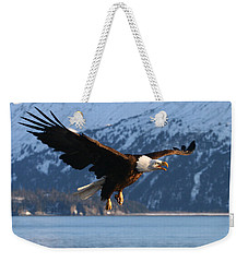 Screaming Eagle Weekender Tote Bag by Doug Lloyd