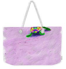 Sea Turtle Escape Weekender Tote Bag