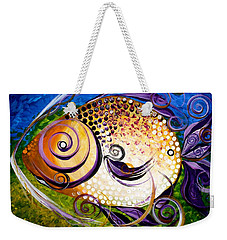 Seagrass And Sultry Non-subtlety Weekender Tote Bag