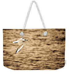 Seagull Antiqued Weekender Tote Bag