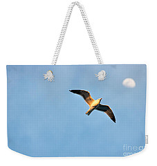 Weekender Tote Bag featuring the photograph Seagull by Luciano Mortula