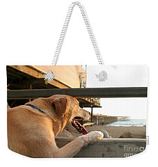 Searching The Ocean Weekender Tote Bag