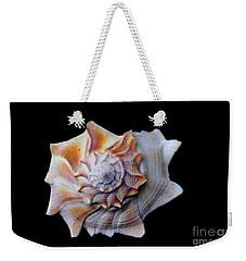 Weekender Tote Bag featuring the photograph Seashell 1 by Deniece Platt