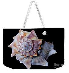 Weekender Tote Bag featuring the photograph Seashell 5 by Deniece Platt