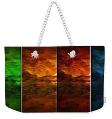 Seasons Change Weekender Tote Bag by Lourry Legarde