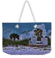 Seat On The Dunes Weekender Tote Bag