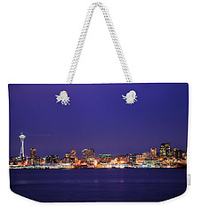 Seattle At Dusk Weekender Tote Bag