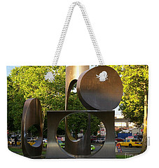 Seattle Sculpture Weekender Tote Bag by Chalet Roome-Rigdon