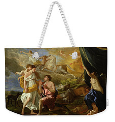 Selene And Endymion Weekender Tote Bag by Nicolas Poussin