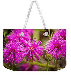 Sensitive Briar Weekender Tote Bag by Lana Trussell