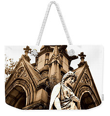 Sepia - Forrest Lawn Cemetery - Buffalo New York Weekender Tote Bag