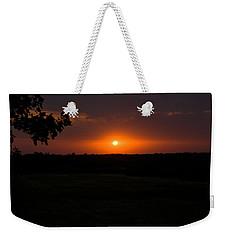 September Sunset Weekender Tote Bag
