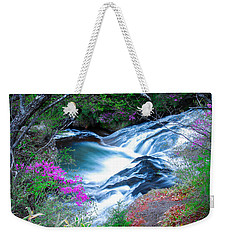 Serenity Flowing Weekender Tote Bag