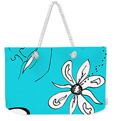 Serenity In Blue Weekender Tote Bag