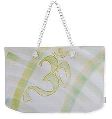 Weekender Tote Bag featuring the painting Serenity by Sonali Gangane