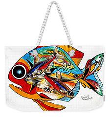 Seven Fish Weekender Tote Bag