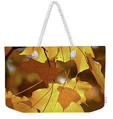 Shadow Dancing Leaves Weekender Tote Bag