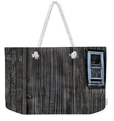 Weekender Tote Bag featuring the photograph Shed by Zawhaus Photography