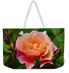 Sherbet Rose Weekender Tote Bag