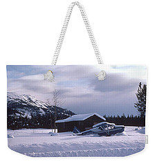 Anyone Got A Shovel? Weekender Tote Bag by Mark Alan Perry