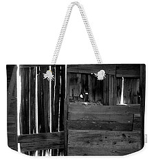 Weekender Tote Bag featuring the photograph Shreds Of Yesterday by Vicki Pelham