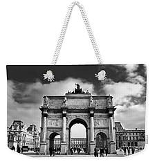 Sightseeing At Louvre Weekender Tote Bag by Elena Elisseeva