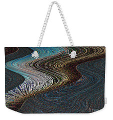 Weekender Tote Bag featuring the photograph Silver Bay by Ausra Huntington nee Paulauskaite