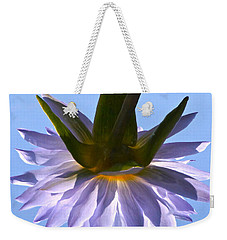 Simple Reflection Weekender Tote Bag by Byron Varvarigos