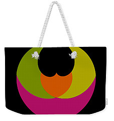 Weekender Tote Bag featuring the photograph Six Squared Batman Style by Steve Purnell