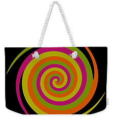 Weekender Tote Bag featuring the photograph Six Squared With A Twirl by Steve Purnell