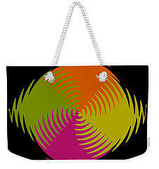 Weekender Tote Bag featuring the photograph Six Squared Zigzag by Steve Purnell