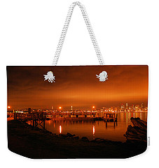 Skies On Fire Weekender Tote Bag