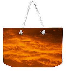 Sky Of Fire Weekender Tote Bag