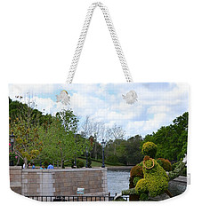 Sleeping Beauty And Her Prince Weekender Tote Bag by Bonnie Myszka