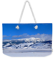 Weekender Tote Bag featuring the photograph Sleeping Indian by Eric Tressler