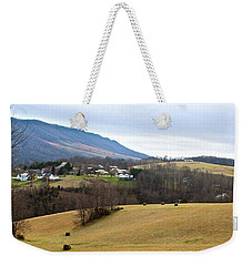 Weekender Tote Bag featuring the photograph Small Town by Kume Bryant