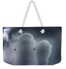 Smoke Signals Weekender Tote Bag by Betsy Knapp
