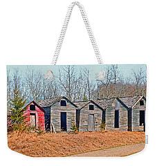 Smokehouse Row Weekender Tote Bag
