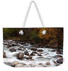 Smokey Water Weekender Tote Bag