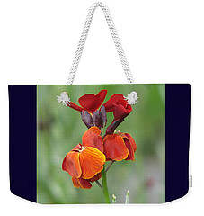 Smooth And Silky Weekender Tote Bag by Chris Anderson