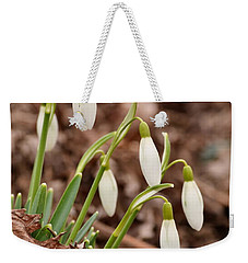 Snow Drops Weekender Tote Bag