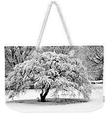 Snow In Connecticut Weekender Tote Bag
