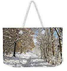 Snowpath Weekender Tote Bag