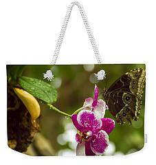 Soaring Orchid Weekender Tote Bag