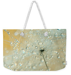 Soft Blue Drops Weekender Tote Bag